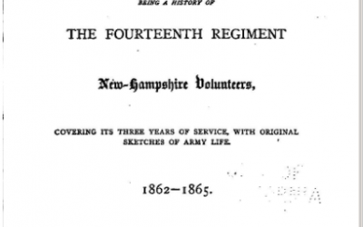 A Memorial of the Great Rebellion, Being a History of the Fourteenth Regiment New-Hampshire Volunteers